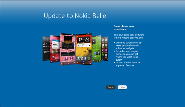 Nokia Belle update now available for N8, C7, E6, X7 and C6-01