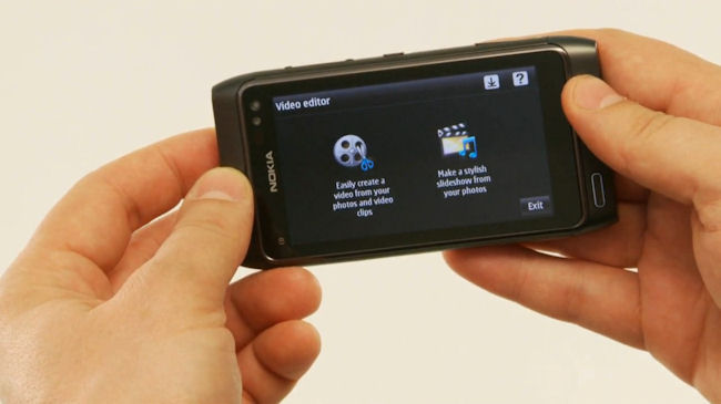 Nokia N8 Video Editor