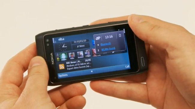 Nokia N8 in detail