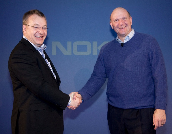 Elop and Ballmer strike an agreement