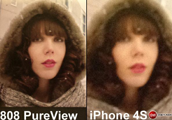 Cropped comparison