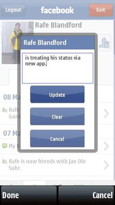 Favebook status update