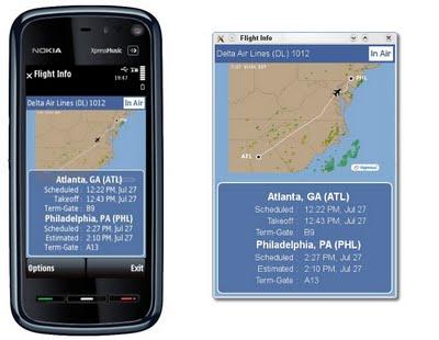 Example Qt application