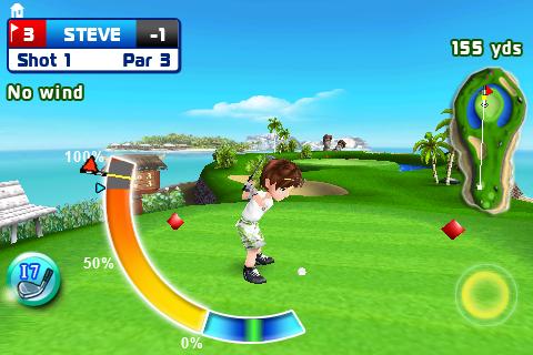 لعبة جولف رهيبه Let's Golf HD الجيل الخامس الصيغه sis Golf1