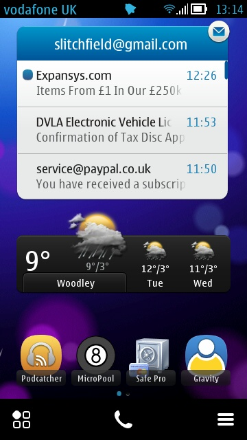 Android Ics Symbian