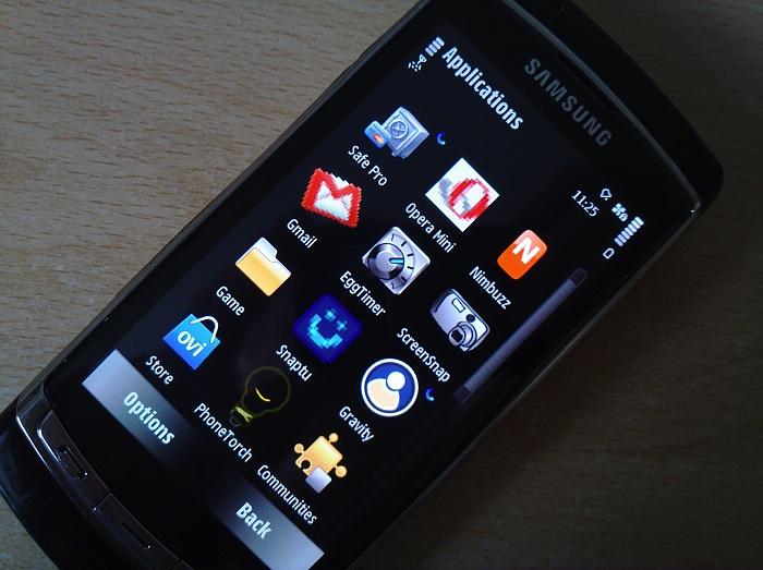 Apps on i8910