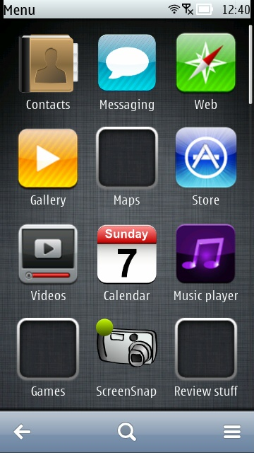 Screenshot, iStyle