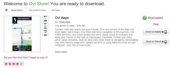 Ovi Maps 3 6 officially graduates