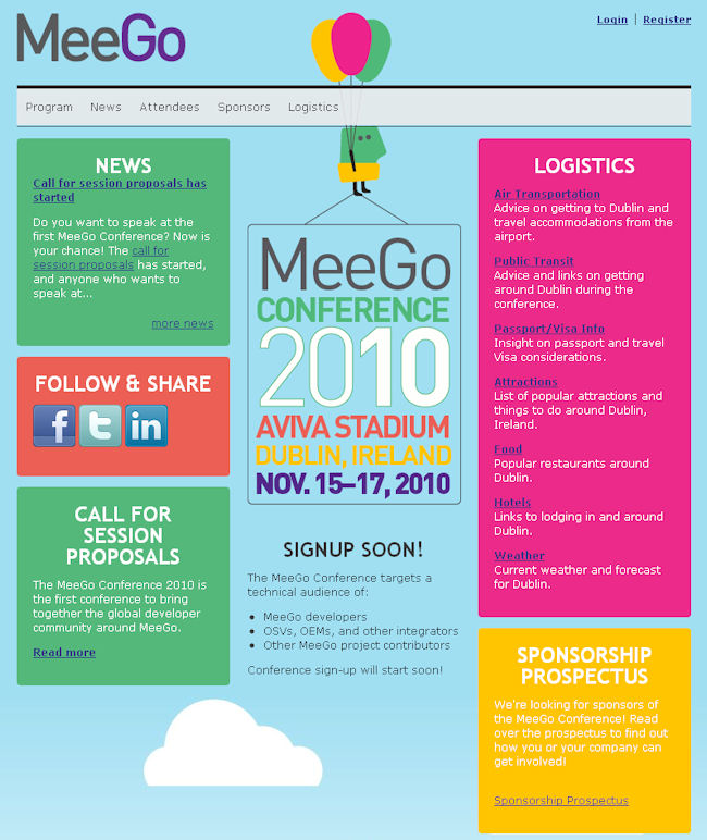 MeeGo conference site