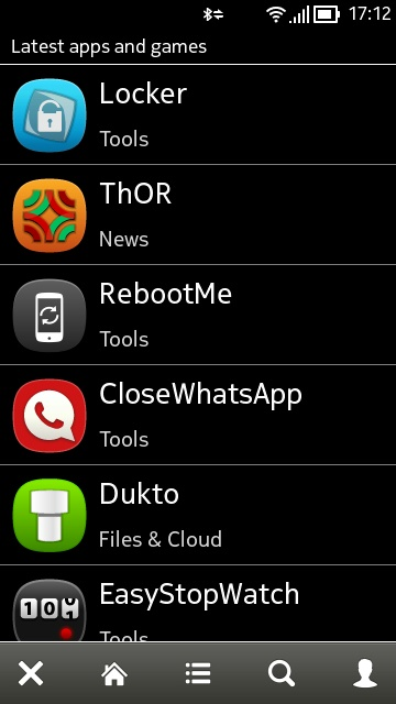 Screenshot, AppList