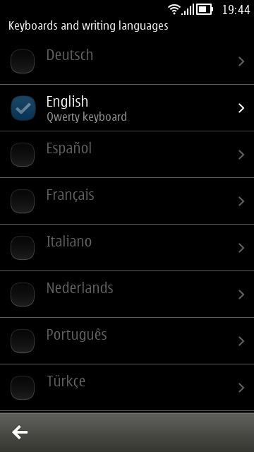 keyboards & writing languages