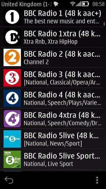 BBC stations!