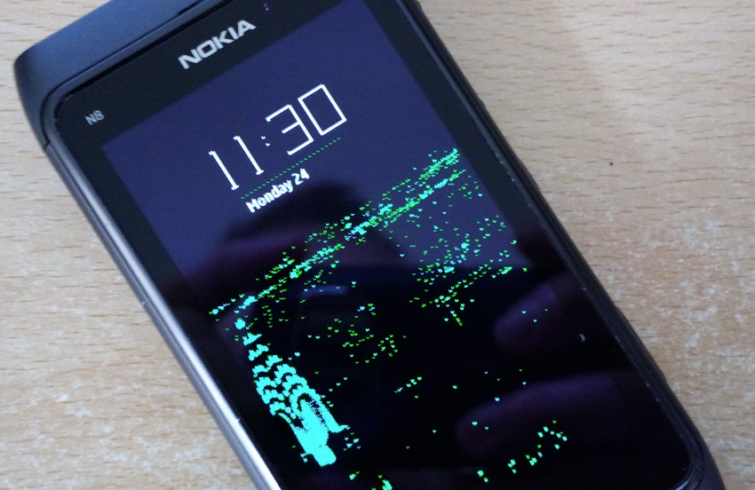 N8 Sleeping Screen