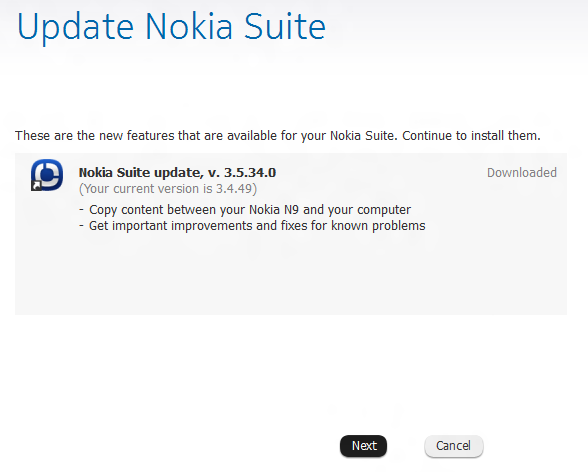 Nokia Suite 3.5.34