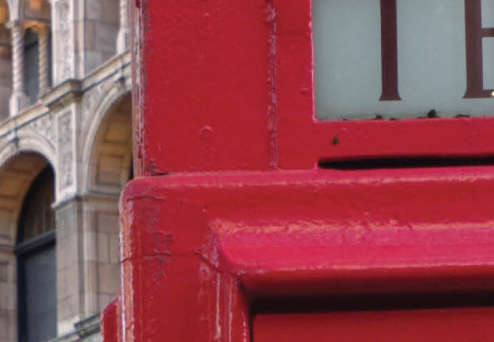 Phone box detail