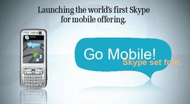 Skype on the N73