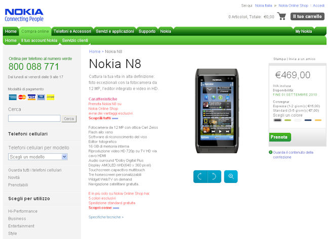 N8 pre-order