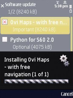 Ovi Maps 3.3 N86