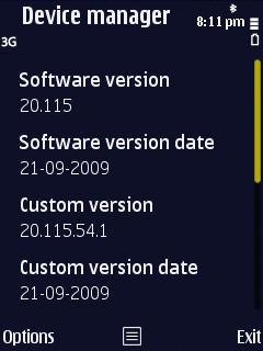 N86 running v20 firmware