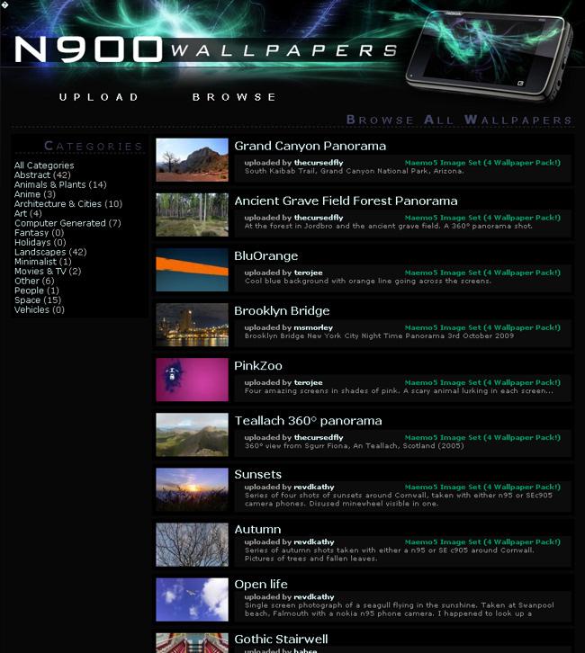 N900 Wallpapers