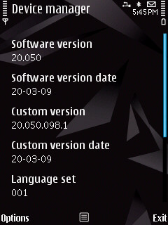 Fimrware installed