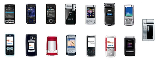 Nokia S60 3rd Editions without Eseries