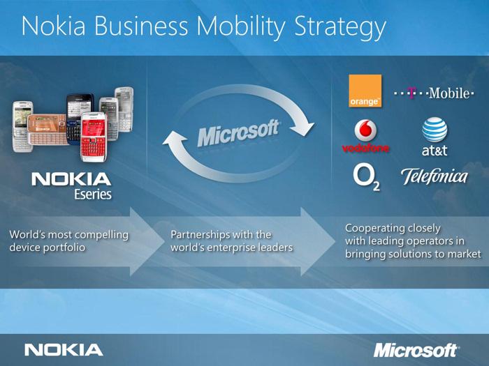 Microsoft and Nokia form enterprise alliance