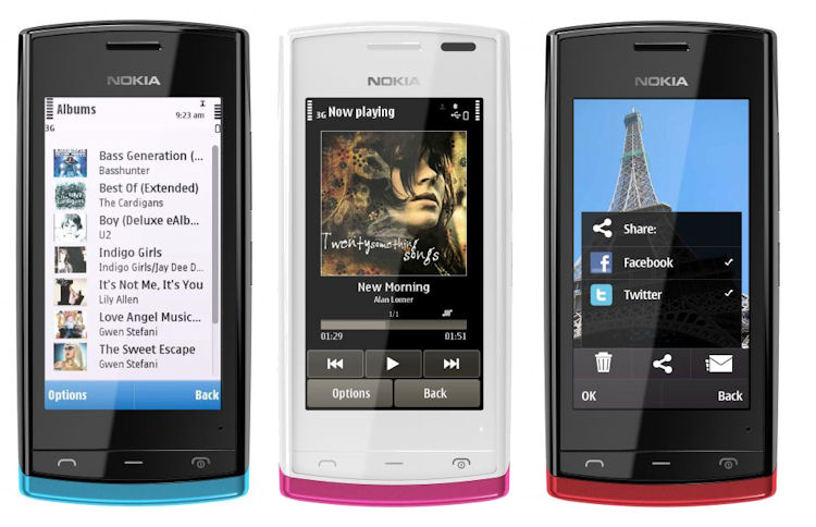nokia 500 symbian software free