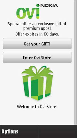 Updated Ovi Store for S60 5th Edition, get free gifts