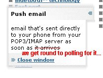Push isn't usually true push.....