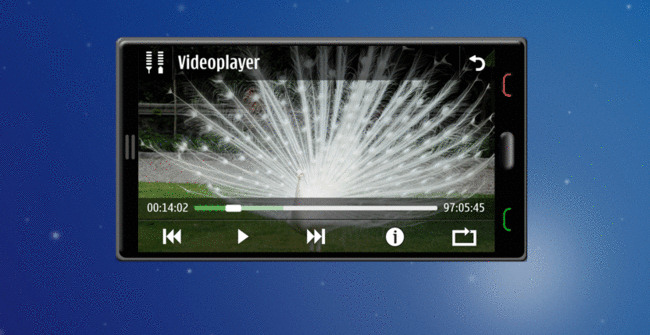 Symbian^3 Video player