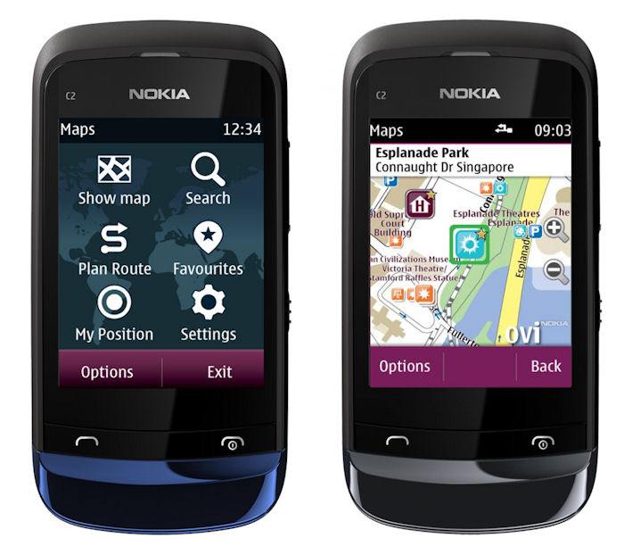 Nokia Series 40 Maps