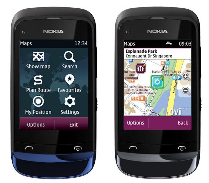 Nokia Series 40 Maps
