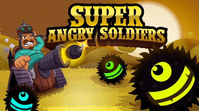 Screenshot, Super Angry Soldiers