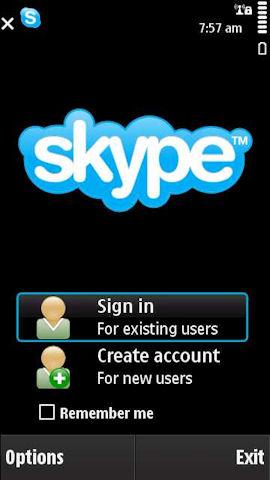skype software for nokia e72