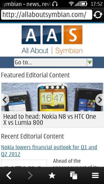 Nokia Belle FP1