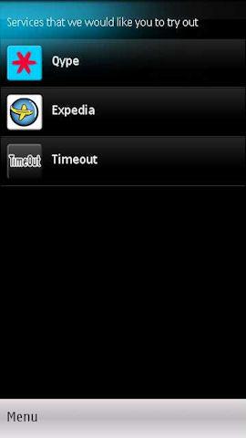 Timeout on Ovi Maps