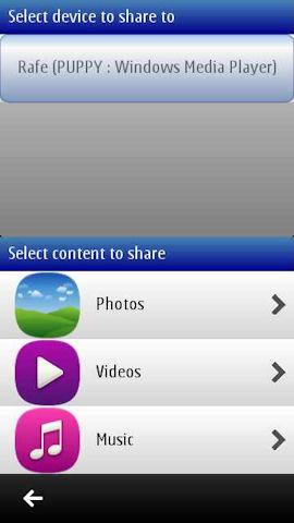 Nokia Play To screenshot