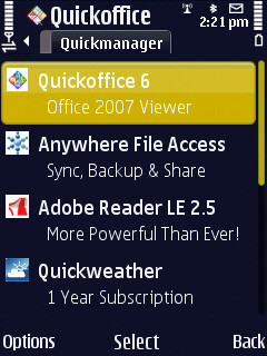Quickoffice 6 upgrade