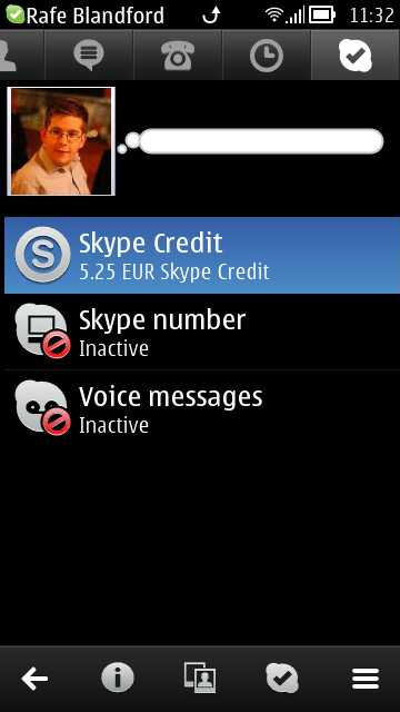Skype for Nokia Belle