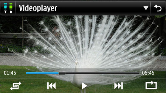 Videoplayer Symbian 4