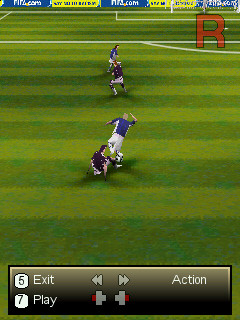 FIFA08 Ngage replay