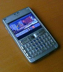 Nokia E61 running Amazon Queen through ScummVM