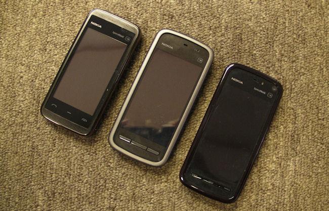 Compare 5230, 5530, 5800