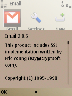E52 Nokia Messaging