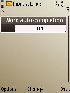 E52 - Predictive Text Input