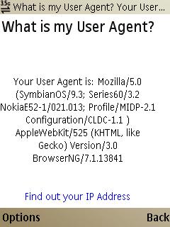 E52 - Web user agent