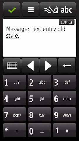 N97 input