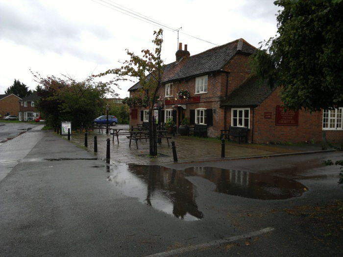 Pub in rain image, click to enlarge or download 12mp original