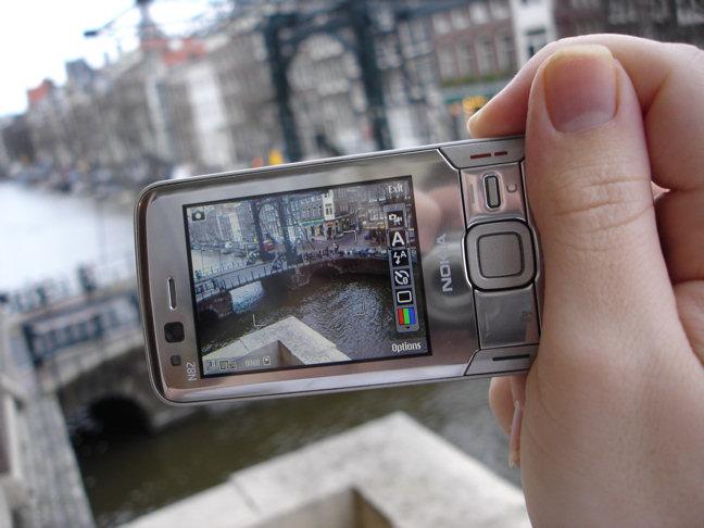 N82 in camera mode